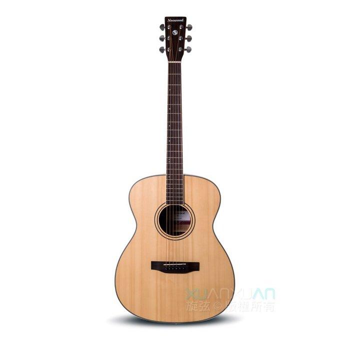 NeoWood SOM-L OM 桶身 雲杉面單板 雷斯木側背板 木吉他 民謠吉他 送超值配件【唐尼樂器】