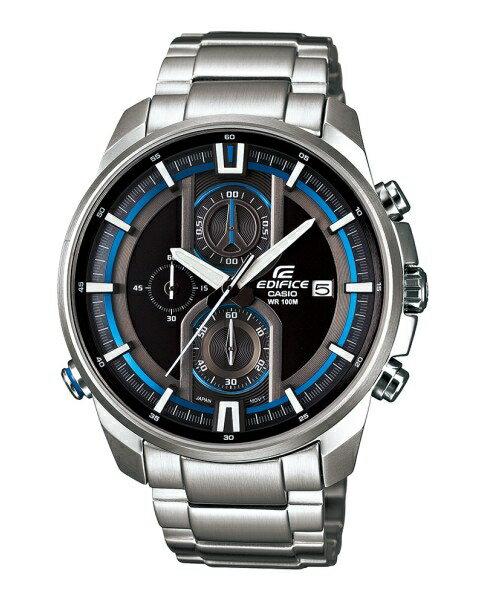 CASIO EDIFICE EFR-533D-1A頂尖科技流行腕錶/黑面44.6mm