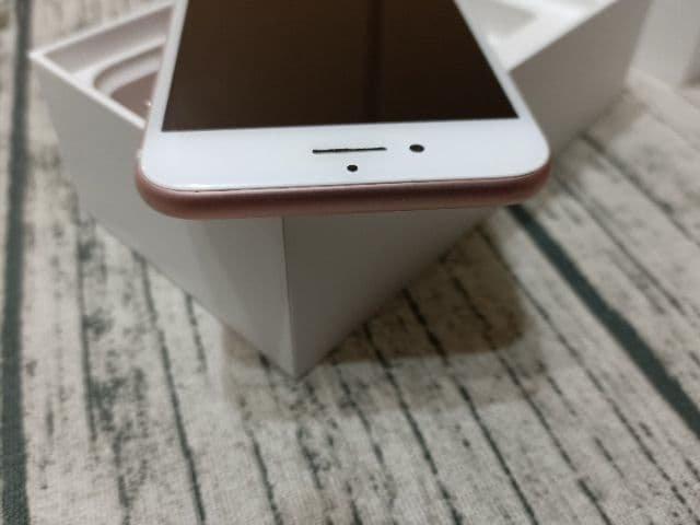Apple iPhone 7 玫瑰金 128GB 附配件  售後保固1個月 618購物節 4