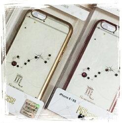 【奧地利水鑽】iPhone 6 /6s (4.7吋) 星座系列電鍍彩鑽保護軟套(處女座)