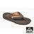 【新品上市】REEF 人體工學彈力鞋床 男款夾腳人字拖鞋 . 深棕 / 黃褐 RF002444DBT 0
