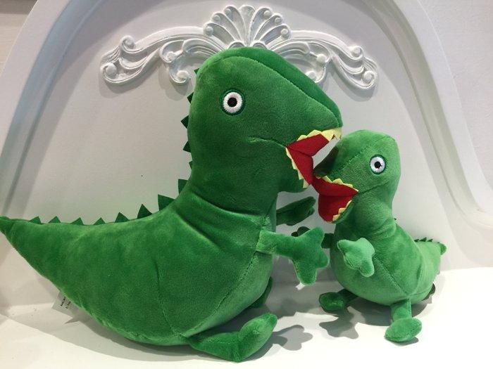 Peppa Pig佩佩豬的弟弟喬治恐龍娃娃29cm