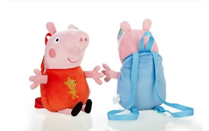 Peppa Pig佩佩豬娃娃背包-2款