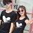 T恤 情侶裝 客製化 MIT台灣製純棉短T 班服◆快速出貨◆獨家配對情侶裝.白色Forever 愛心【Y0258】可單買.艾咪E舖 1