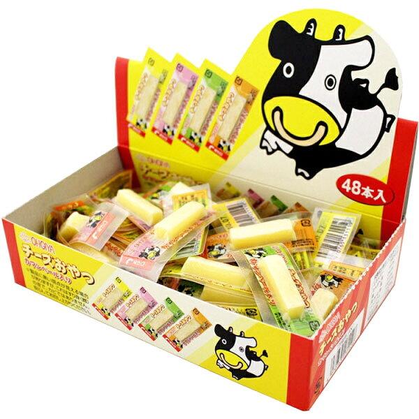 糖果王:日本扇屋起司條48入裝
