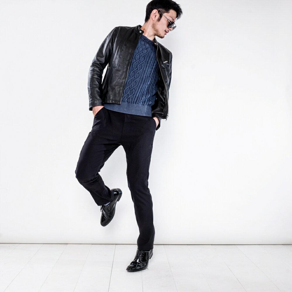 極致黑八口袋商旅紳士褲 MANHATTAN BLACK 8 POCKETS 3