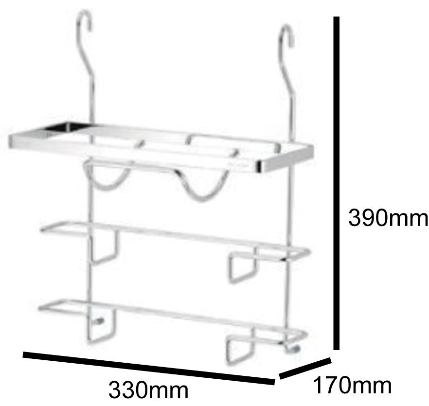DAY&DAY 鍋蓋架 掛式 附贈集水盒(ST3027B)