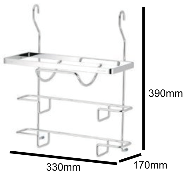洗樂適衛浴:DAY&DAY鍋蓋架掛式附贈集水盒(ST3027B)