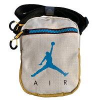 Shoestw【9A0197-W66】NIKE JORDAN Jumpman Air Festival Bag 側背包 多功能小側包 AIR JORDAN 大飛人 卡其芥末黃藍 0