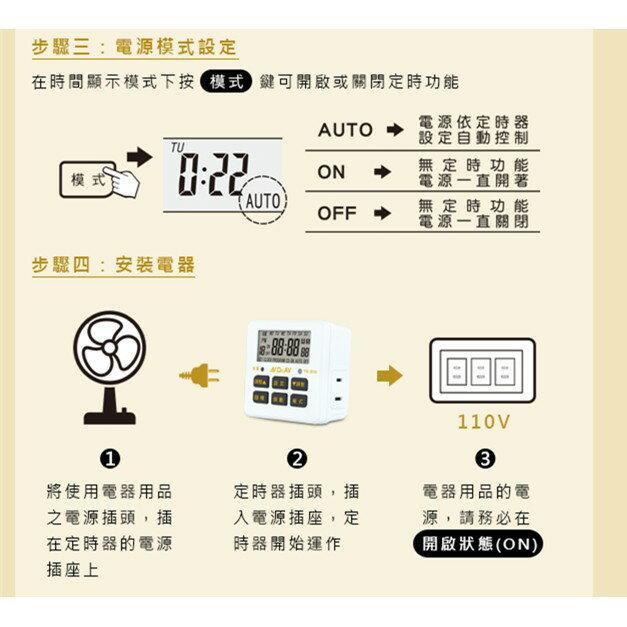 電子式智能電子式智能定時器 (1入/組) TE-313 智能節能好幫手10組設定 獨家倒數計時功能