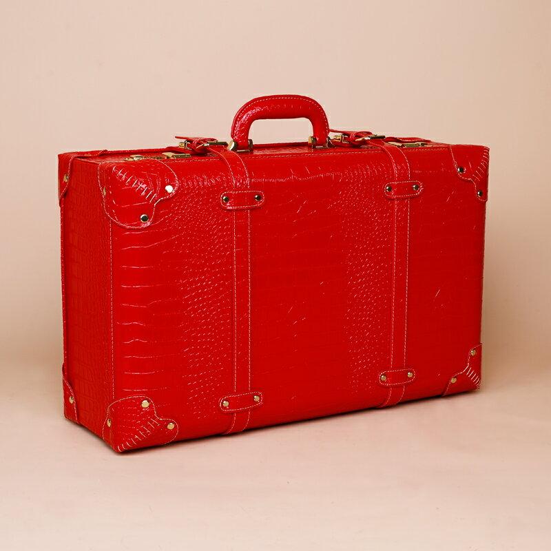 手提密碼箱 紅色結婚箱子陪嫁箱皮箱新娘嫁妝箱結婚行李箱婚慶官箱密碼手提箱【全館免運 限時鉅惠】