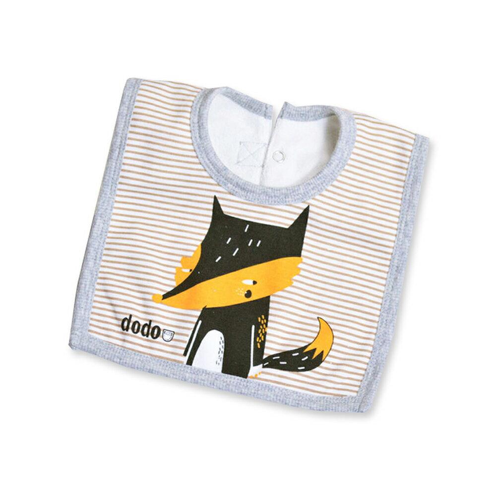 口水巾圍兜餵奶巾-造型方形純棉圍兜兜-Joybaby