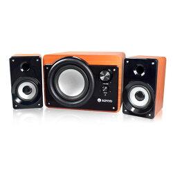 KY-7360 典藏全木質超重低音喇叭 藍牙音箱 迷你音箱 多媒體音箱 可攜式音箱【迪特軍】