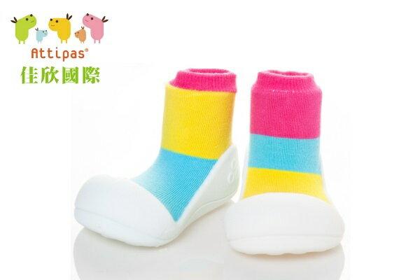 【平均1雙只要495】韓國【Attipas】快樂腳襪型學步鞋(AT居家系列)