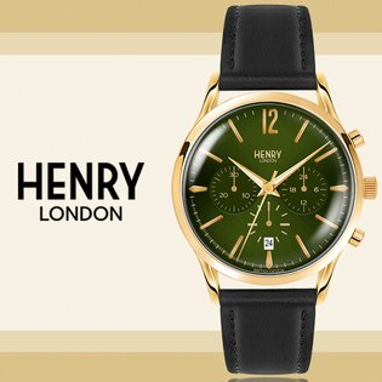 HenryLondon英國前衛品牌RICHMOND計時腕錶HL41-CS-0106公司貨