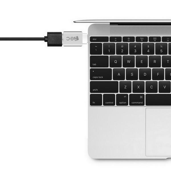Aluminum USB-C to Micro USB Adapter Support Data Transfer and Charging for PC Laptop Phone 2