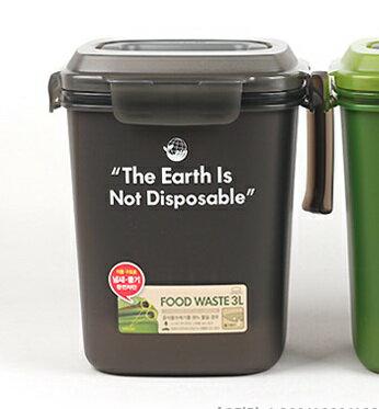 🌟現貨🌟【樂扣樂扣】廚餘回收桶/3L(LDB501BK) 樂扣廚餘桶 餿水桶 密封廚餘桶 回收桶