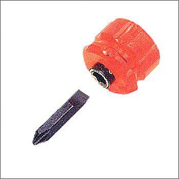 迷你替換式雙頭膠柄起子6.0mm/2# DST-07