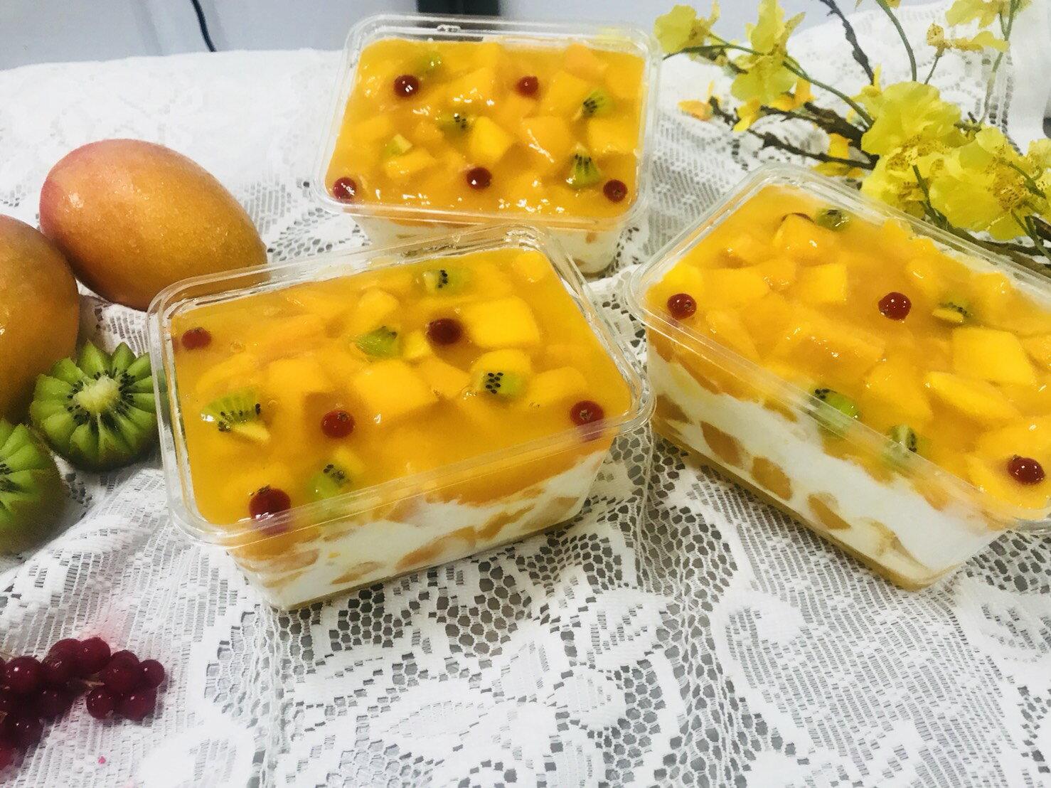 【芒果季】芒果生乳蛋糕1盒350★ 3