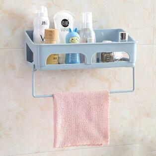 加大無痕壁貼毛巾置物架毛巾架(不挑色)HHB3609