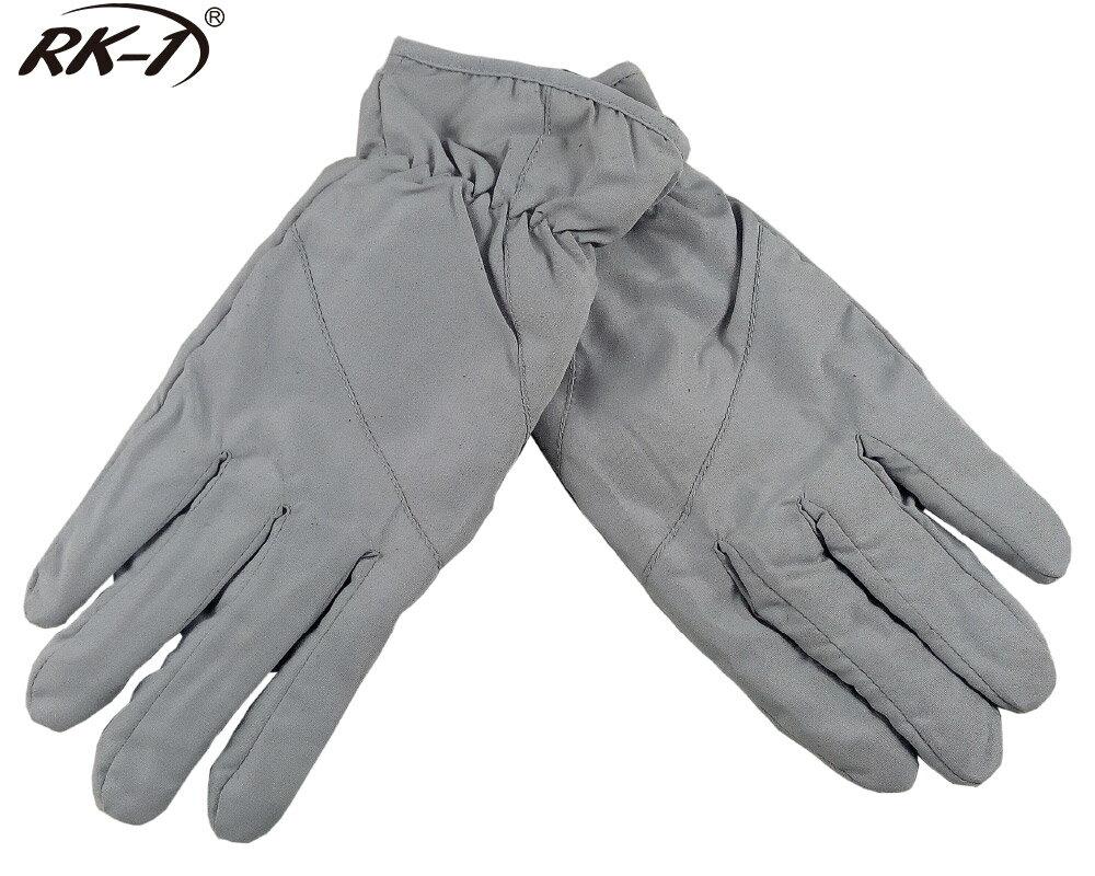 小玩子 RK-1 女用 手套 保暖 防寒 防潑水 伸縮 舒適 銀灰 騎車 機車