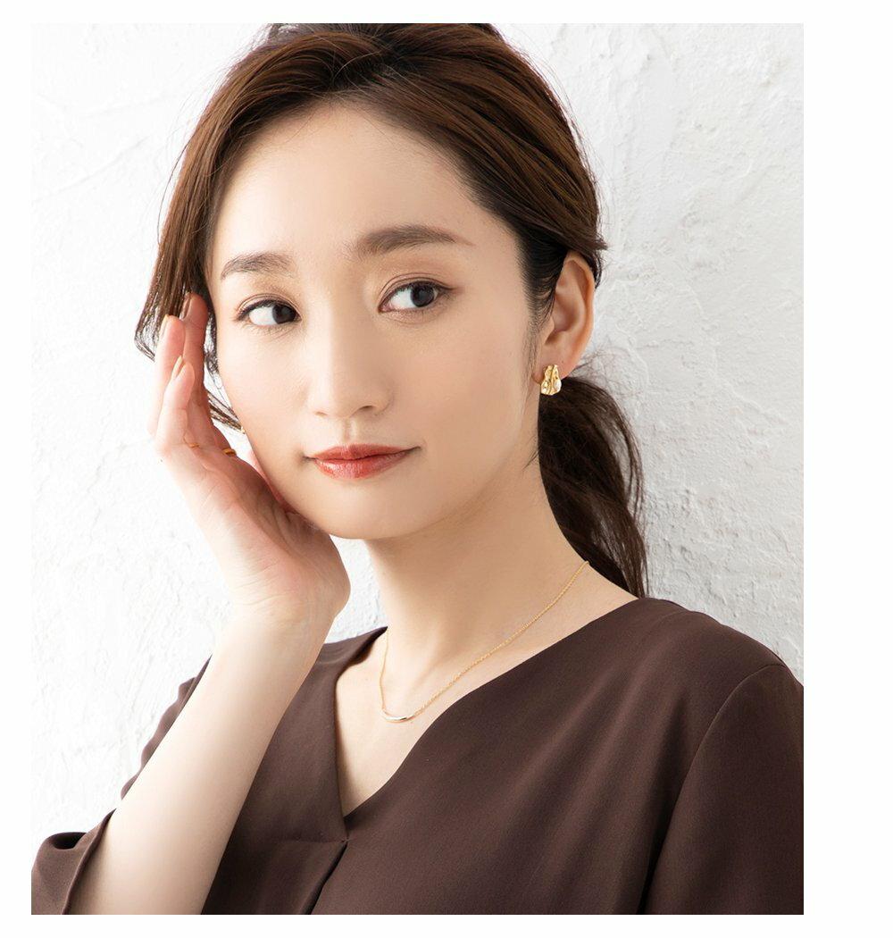 日本Cream Dot  /  不規則珍珠穿孔耳環  /  s00011  /  日本必買 日本樂天代購  /  件件含運 1