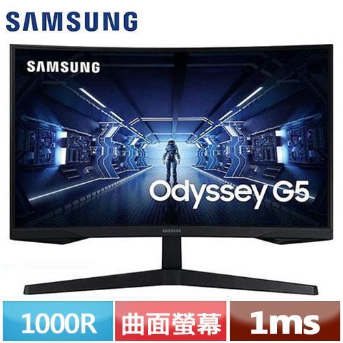 SAMSUNG三星 32型 1000R曲面螢幕 C32G55TQWC