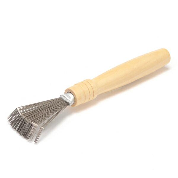mapepe天然毛梳專用清潔刷1入