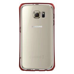 TETRA™ Pro 極簡金屬邊框雙層保護殼 for Samsung Galaxy S6 - 紅