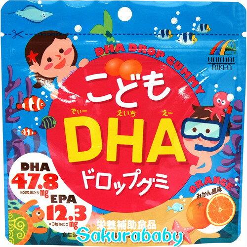 日本 小孩DHA 水果軟糖 蜜柑風味 頭腦?? 櫻花寶寶