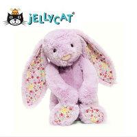 彌月玩具與玩偶推薦到★啦啦看世界★ Jellycat 英國玩具 / 粉紫碎花 玩偶 彌月禮 生日禮物 情人節 聖誕節 明星 療癒 辦公室小物就在Woolala推薦彌月玩具與玩偶