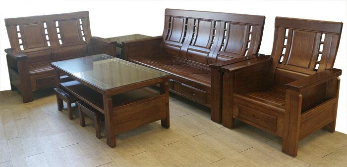 【尚品傢俱】656-01 阿克曼 實木木椅組