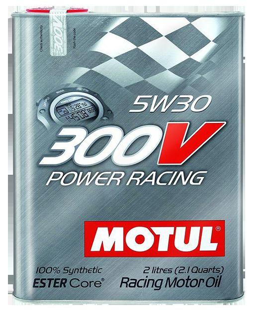 『油夠便宜』Motul摩特 300V Power Racing 5W30 酯類合成機油(2L裝/汽車用)
