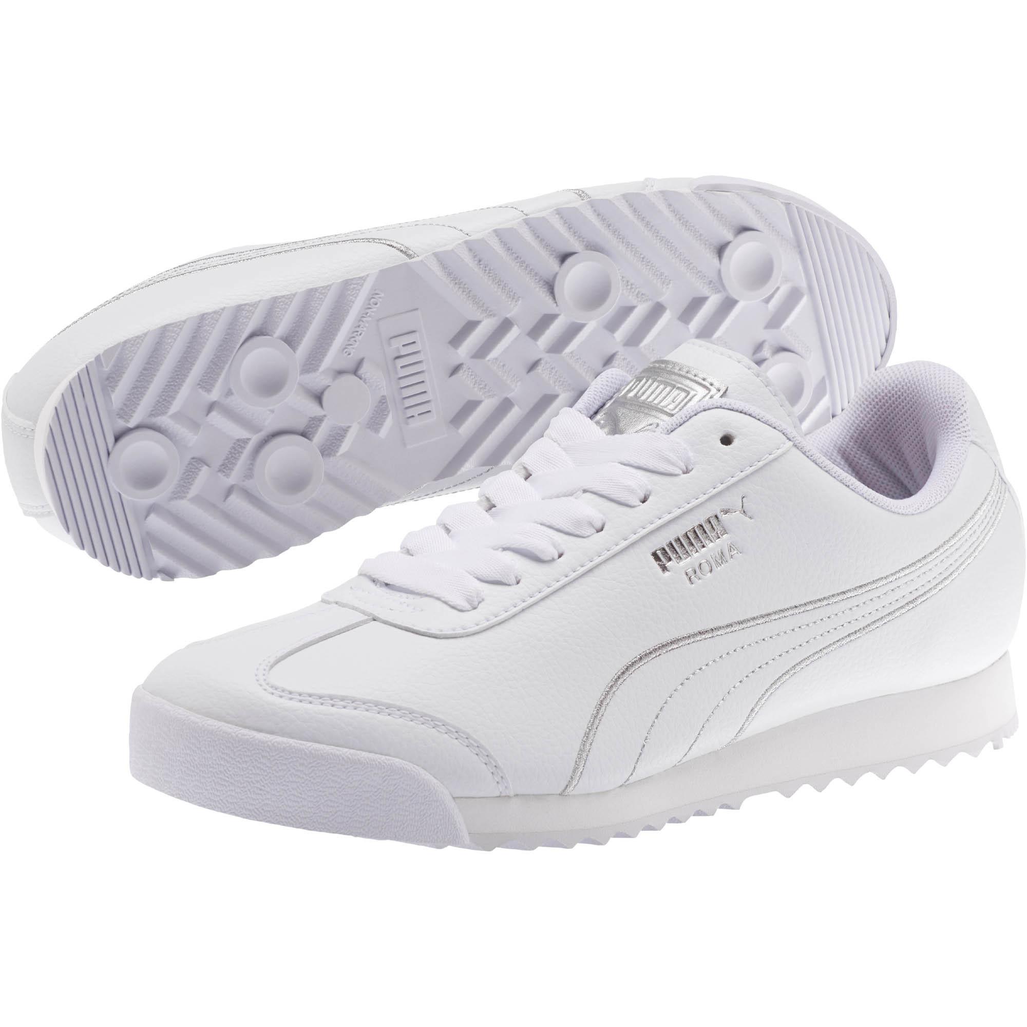 pretty nice 079c9 0b500 PUMA Roma Metallic Stitch Women s Sneakers Women Shoe Sport Classics 0