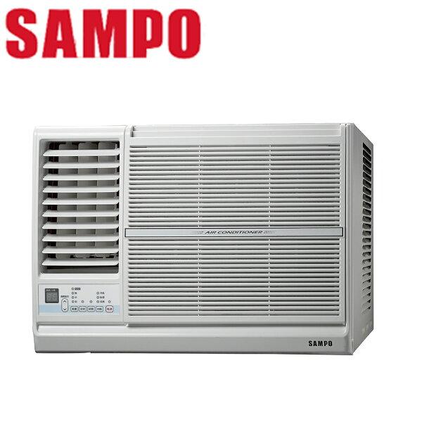 【SAMPO聲寶】3-5坪定頻左吹窗型冷氣AW-PC22L【三井3C】