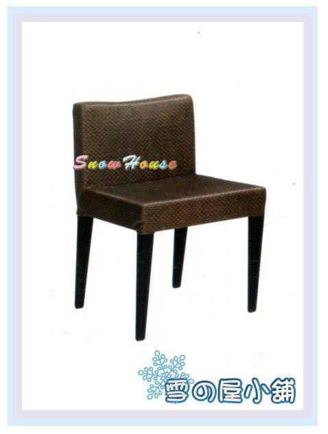 ╭☆雪之屋居家生活館☆╯AA852-03 丹堤餐椅(咖啡色/高彈性泡棉)/ 造型椅/櫃台椅/吧枱椅