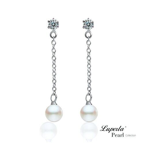 大東山珠寶 可愛寶貝 淡水珍珠耳環