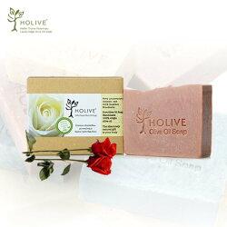 【希臘神話】天然橄欖油手作皂/玫瑰(120g/1入)