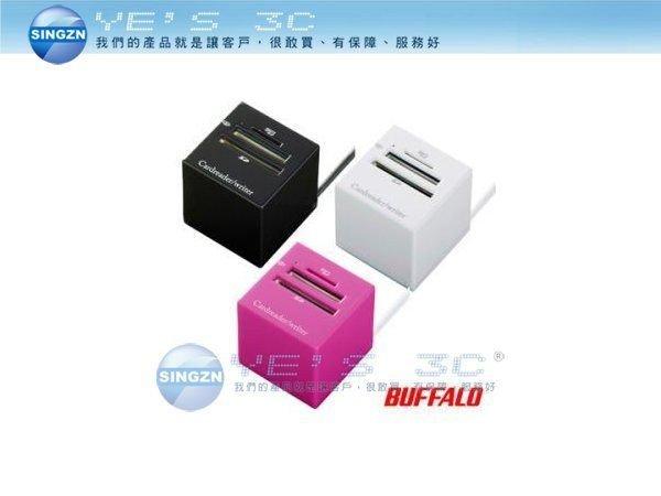 「YEs 3C」BUFFALO 巴比錄 38+5 多合一立體USB讀卡機 帶線式 micro SD/MMC/SD/Mini SD 滿490免運+↘挑戰最低價!