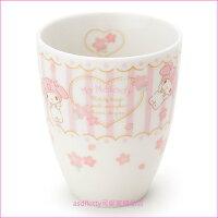 美樂蒂My Melody周邊商品推薦到asdfkitty可愛家☆美樂蒂櫻花陶瓷茶杯-日本製