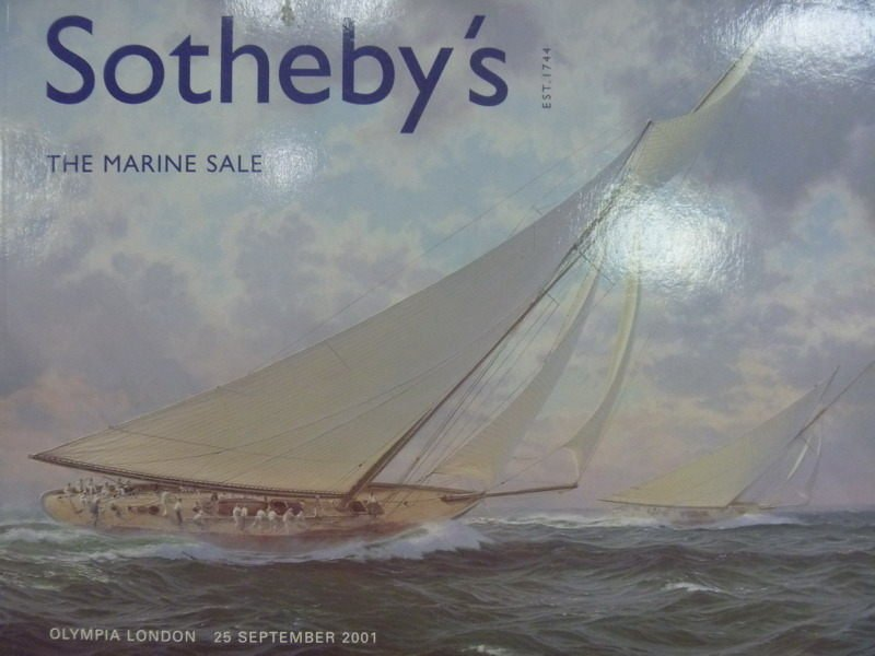 【書寶二手書T6/收藏_PPU】Sothebys_2001/9/25_The Marine Sale