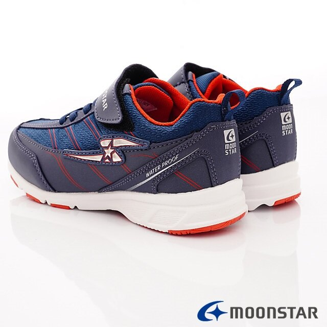 日本Moonstar機能童鞋 防水系列運動鞋 9295深藍(中大童段) 5