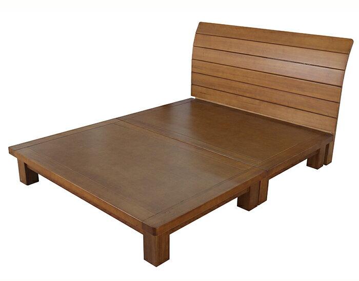 【尚品家具】685-10 歐月 楊木半實木5尺床片型床台-另有6尺床台/床架/Bed