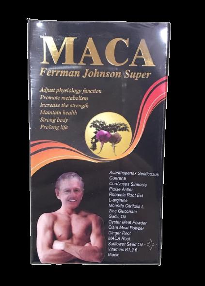 安博氏 美國MACA雄寶膠囊 頂級瑪卡 60顆 人生活的精采~每日活力四射