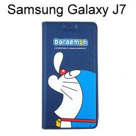 哆啦A夢皮套 [瞌睡] Samsung J700F Galaxy J7 小叮噹【台灣正版授權】