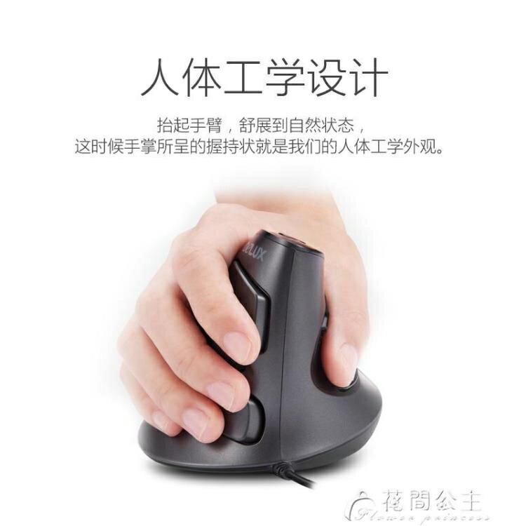 有線滑鼠-多彩垂直滑鼠無線有線靜音電腦立式辦公家用人體工程學設計師滑鼠