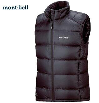 Mont-Bell 羽絨背心/羽毛背心 Light Alpine 800FP鵝絨 男款 1101536 黑BK montbell 台北山水
