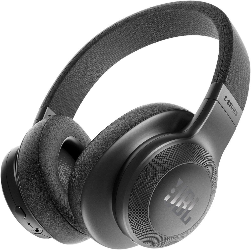 ecaebd7e856 JBL E55BT Bluetooth Over-Ear Headphones with One-Button Remote and Mic  (Black