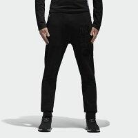 Adidas愛迪達,adidas愛迪達衣服/運動服推薦到ADIDAS WINTER SWEAT PANTS 男裝 休閒 長褲 ORIGINALS 束口褲 修身 黑【運動世界】BS2639