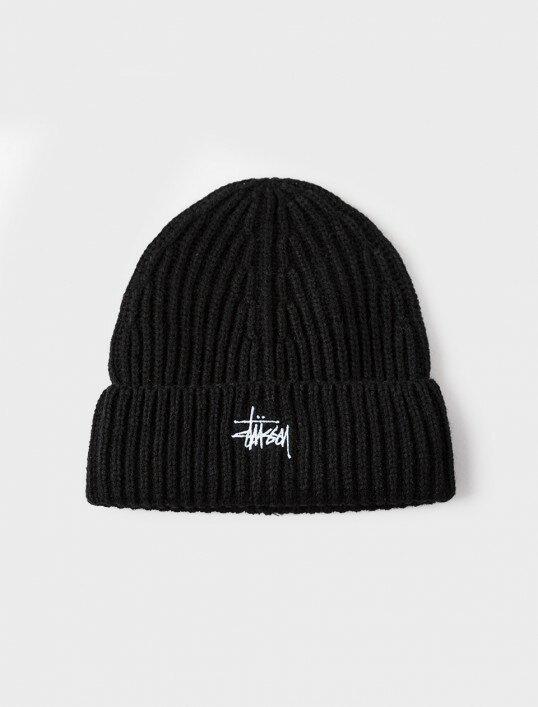 STUSSY BASIC STOCK CUFF BEANIE  針織毛帽 LOGO 2016FW